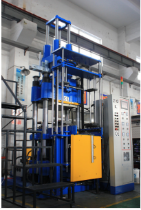 Automatic vertical injection machine